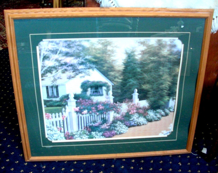 Country House Painting.   41 x 36.  <b>$35 </b>