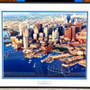 Amazing Boston Waterfront in Elegant Frame By T. Lyon.  24 x 20 1/2.  <b>$40</b>