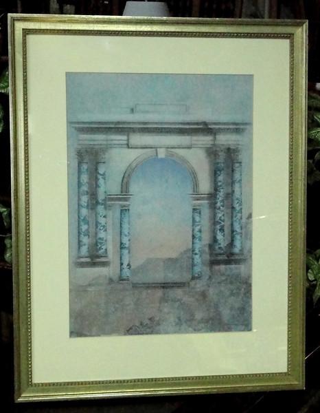 Blue Arch.  23 x 29.  <b>$30</b>