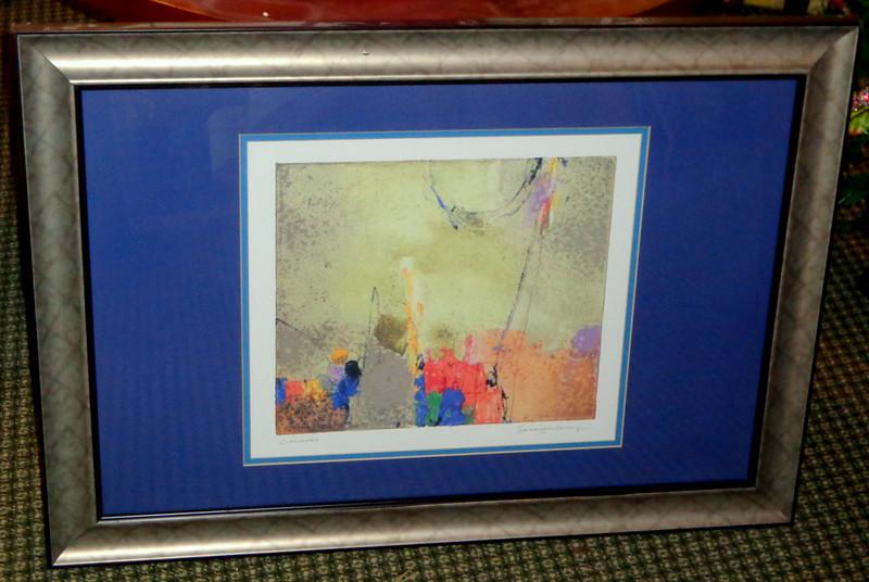 <i>Lalondo</i> by Sara Jane Cherry Framed Art Print.  33 1/2 x 24.  <b>$30</b>