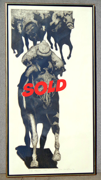 The Winner - Limited Edition Hand-Signed Lithograph