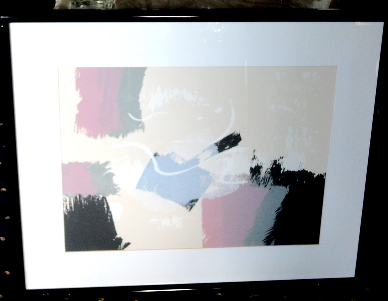 Contemporary Subdued Colors.  31 x 26.  <b>$35</b>
