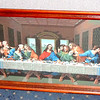 The Last Supper in Elegant Solid Wood Frame in Excellent Condition.  35 x 18.   <b>$125</b>