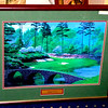 Augusta National 12th Hole Framed Golf Print. Beautifully framed and double matted makes this picture a great gift. The 12th Hole of the Augusta National Golf Course is famous for its scenic and challenging lie.  30 x 25.  <b>$65</b>