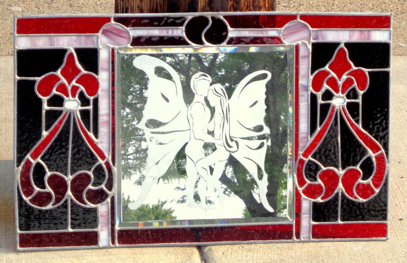 Stained Leaded Glass Window Art