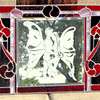 Stained Leaded Glass Window Art