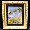 Tropical Palms Framed Art