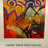 "Hard-to-Find ""On Top of the World.""  Cherry Creek Arts Festival July 3, 4, 5, 1998.  Unframed oil on handmade paper by Valerie Willson (Vachon, WA).  Hand-Signed Series 516 of 1000.  24 1/2 x 31. <b>$40</b>"