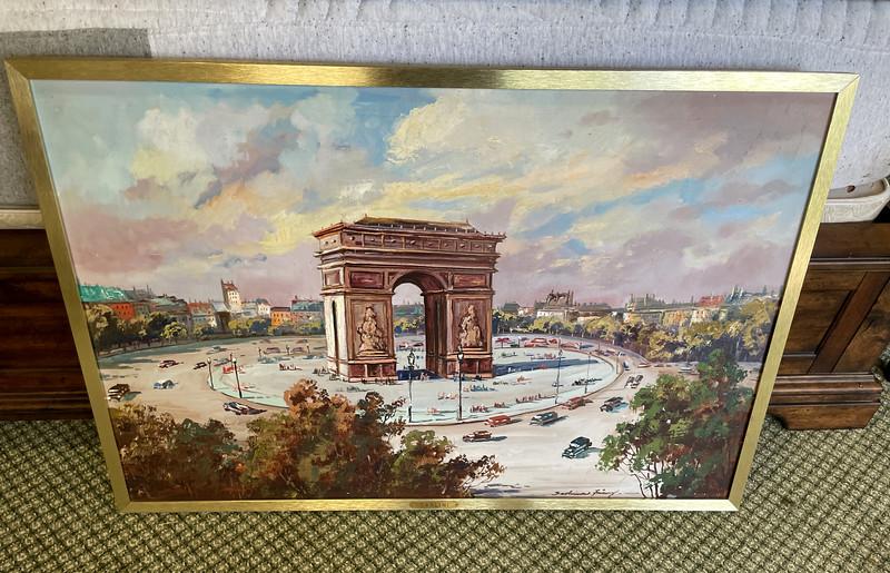 Arc de Triomphe Framed Art
