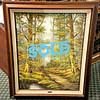 <i>The Woodland Trail</i> - Original Oil on Canvas by Hans Dur (1913 - 1993).  31 x 38.  <b>$95</b>