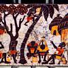 African Art on Linen.  34 x 26.  <b>$50</b>