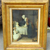 Exceptional Antique Framed Art.  21 x 25.  <b>$195</b>