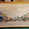 Suburban Michigan Downtown Framed Art