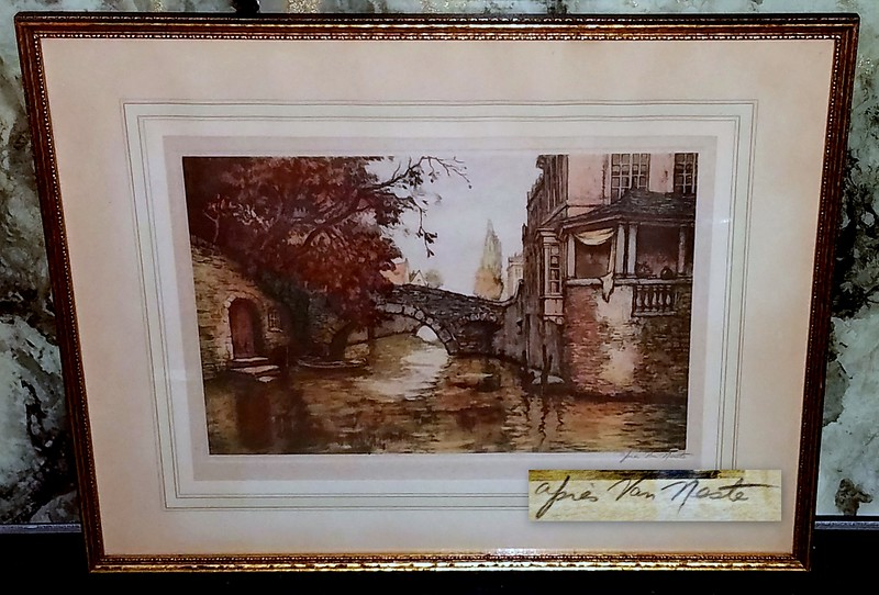 Alfred van Neste Framed Art