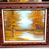 Original Oil on Canvass in Beautiful Frame by G. Stevens. 28 x 24.  <b>$65</b>