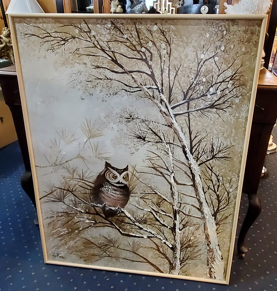 Lee Reynolds Winter Owl