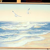 Ocean Gulls Original Oil by Anderson.  46 x 38.  <b>$50</b>
