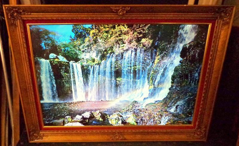 Waterfall Illuminated Motion Art