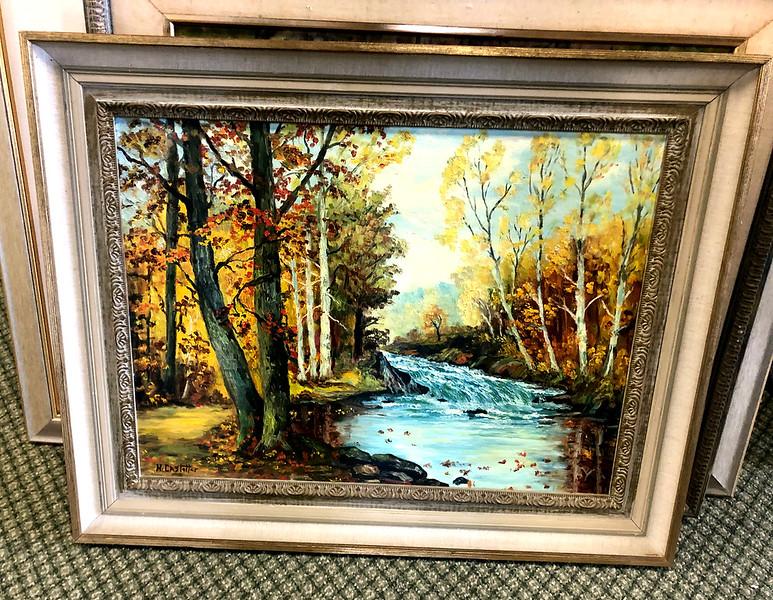 Pastoral Nature Scene Original Oil