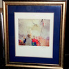 Calando by Sarajun Chang Framed Art.  Contemporary style in elegant smoke silver frame.  38 x 31.  <b>$40</b>