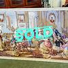 Victorian Social Scene Tapestry