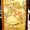 Elegant French Provincial Tapestry Art in Ornate Frame. 30 x 42.  <b>$195</b>