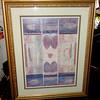 Impressive Wall Print in Elegant Frame.  23 x 43.  <b>$45</b>