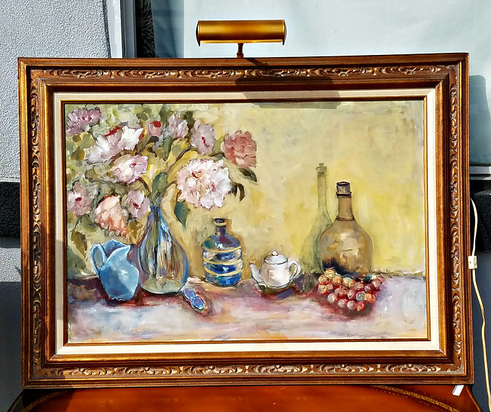 Still Life with Attached Lamp