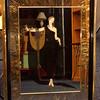 Unique <i>Mikasa Erte' </i>Contemporary Cosmopolitan Fashion Wall Mirror Art in Frame.  35 x 46.  <b>$175</b>