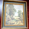English Country Scene by Constable.  16 x 19.  <b>$45</b>
