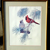 Harry Antis Hand Signed - Cardinal.  23 x 27.  <b>$50</b>