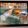Coke & A Burger Small Framed Art