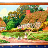 Impressive Needlepoint Framed Art in Excellent Condition.  25 x 16.  <b>$150</b>