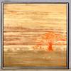1970's Textured Upholstery Renoir in Frame
