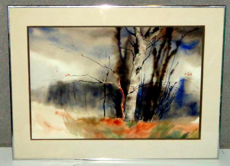 Birch Trees - Beautiful Brilliant Watercolor