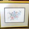 Colorful Framed Floral Lithograph ~ Bertrand 1667 / 1900.  27 x 23.  <b>$40</b>
