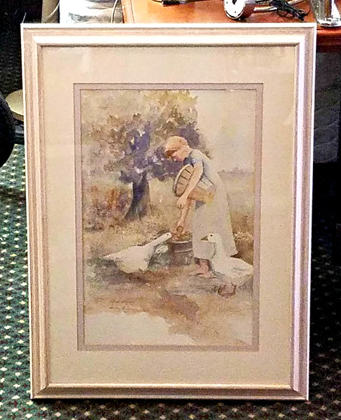 Judy Buswell Hand-Signed Print