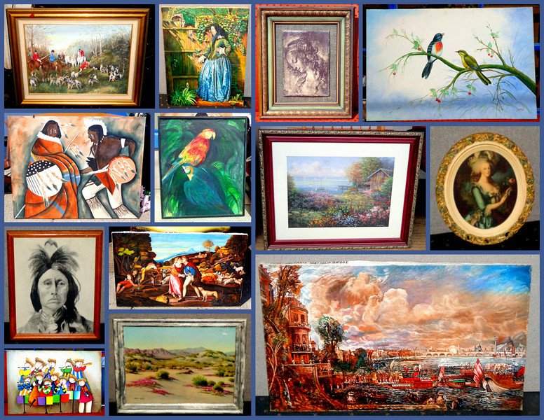 """Nice Selection of Newly Arrived Framed Art Pieces.  Check out the Art Section of our website to learn details and pricing for these newly arrived pieces.  Click  <a href=""""http://fredsuniquefurniture.smugmug.com/gallery/11155123_BVWr9k#!i=3469338886&k=ZGKPfdV"""" target=""""_blank"""" rel=""""nofollow""""><b><font color=""""#0000FF"""">here</a> </font></b> to get started."""