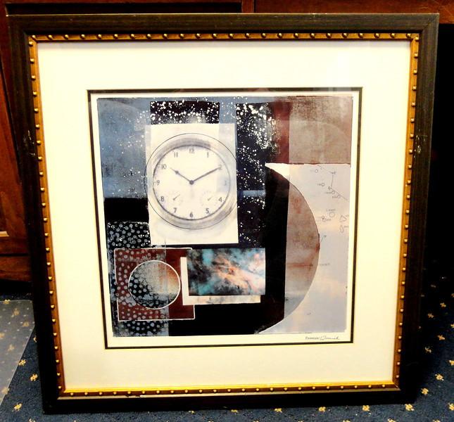 'Crosswinds' ~ An Elegant Bernsen/Tunich Framed Art Piece.  25 x 26.  <b>$50</b>