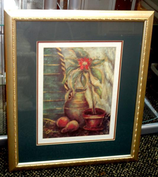 Thomasville 'Quiet Shadows' Framed Art.  23 x 28.  <b>$35</b>
