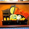 Elegant and Distinctive Asian Vanity Dresser Oil on Canvass.   42 x 30.  <b>$165</b>