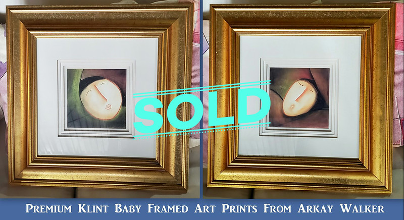 Klint Baby Framed Art Prints