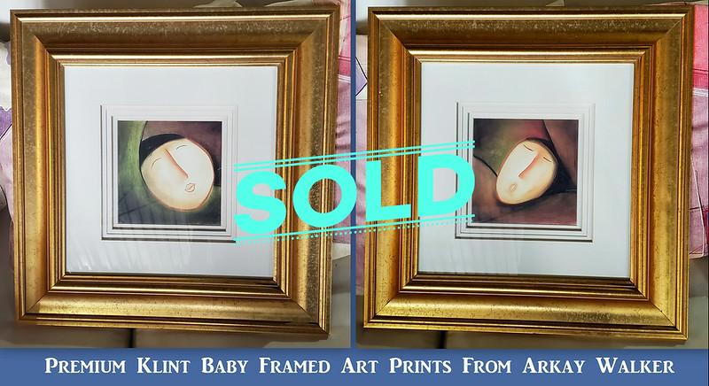 Klint Baby Framed Art Prints