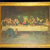 <i>The Last Supper</i> Vintage Catholic Store Art Print.  23 x 19.  <b>$50</b>
