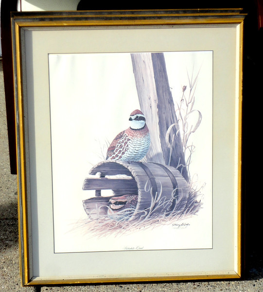 Harry Antis Hand Signed - Owl.  23 x 27.  <b>$50</b>