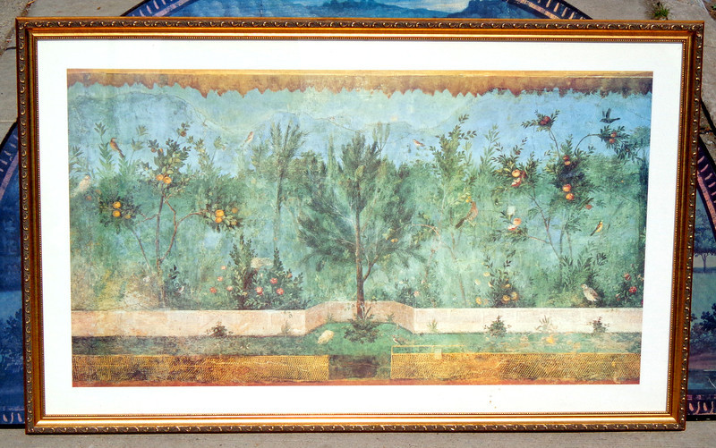 Forgotten Garden Song II Stretched Canvas Print in Beautiful Frame.  41 x 26.  <b>$95</b>