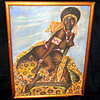 African Theme Art by Local Artist in Frame.  21 1/2 x 28.  <b>$65</b>