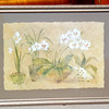 White Orchids Print by Cheri Blum.  Elegant Floral Wall Painting.  38 x 29.  <b>$45</b>