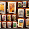 Nice Selection of Contemporary-Look Framed Art with Glass Cover in Excellent Condition.  33 x 48.  <b>$35 to $40</b>