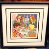 Mah-Jongg Hand-Signed By Greenberg Lthograph.  92/500.  15 x 15.  <b>$75</b>